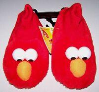 Nwt New Sesame Street Elmo Puppet Slippers Shoes Padded Cute Toddler Boy Girl