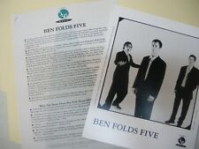 Ben Folds Five press kit, 8x10 photo