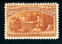 USAstamps Unused FVF US 1893 Columbian Expo At La Rabida Scott 239 OG MNH