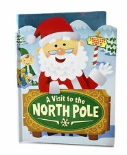 Hallmark Book A Visit to The North Pole Be a Part of the Story XKT1070