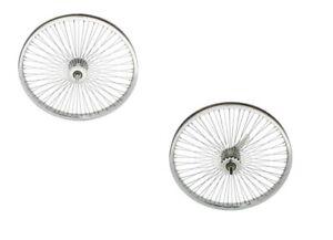 "New 24"" Bicycle Wheel 72 Spokes Cruiser Lowrider Bikes"