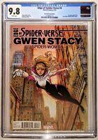 EDGE OF SPIDER VERSE 2 Variant SIYA OUM Cover 1st SPIDER GWEN CGC 9.8🔥Modern🗝️