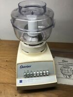 Vintage Osterizer Designer Cycle Blend Blender With Plastic Container