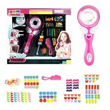 Electric Automatic DIY Hair Styler Twister Braider Styling Tools For Girls Pink