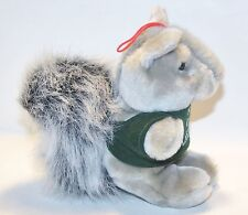 YMCA CAMP Lakewood GRAY SQUIRREL SOFT PLUSH STUFFED ANIMAL Removeable Shirt