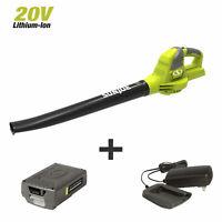 Sun Joe 20VIONLTE-BLW Cordless Blower Sweeper   2.0-Amp   20-Volt
