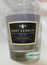 Root Candle LAVENDER MUSK French Lavender Lrg Veriglass Scented Beeswax 10.5 oz