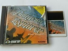Dungeon Explorer NEC PC Engine TurboGrafx-16 PCE/Hu-Card,Manual,Boxed tested-D-
