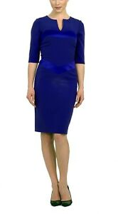 Brand new without the tags designer dress royal blue colour size 8