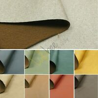 "Faux Suede Leather Car Seat Upholstery Campervan Caravan Leatherette Fabric 60""W"