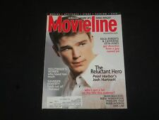 2001 JULY MOVIELINE MAGAZINE - JOSH HARTNETT - SP 6148