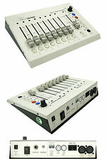 Lite-Puter Cx-804 3/5 Pin Xlr/Dmx Light Controller with Built-in Chase & Audio