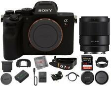 Sony Alpha A7R IV Digital Camera with FE 35mm f/1.8 Lens & 128GB SD Card