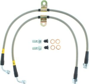 StopTech For 04-11 Mazda RX-8 Stainless Steel Brake Hydraulic Hose - 950.45005