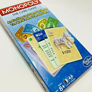 """Vintage 2000 Monopoly """"The Card Game"""" Hasbro A Winning Move Game"""