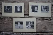 3 Netherlands Royalty Royal Family Multiview Photo Postcards Princess King Queen