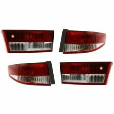 FIT FOR HONDA ACCORD SEDAN 2003 2004 REAR TAIL LAMP OUTER & INNER RIGHT & LEFT
