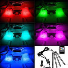 Universal RGB 12 LED Car SUV Accessories Floor Decorative Atmosphere Lamp Light