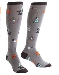 Sock it to Me Science Knee High Dress Socks