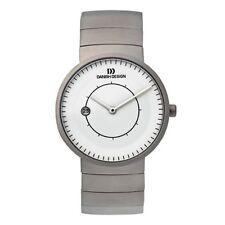 Danish Design IQ62Q830 White Dial Titanium Quartz Classic Men's Watch