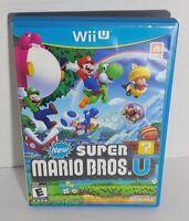 New Super Mario Bros. U - Nintendo Wii U - Complete in Case