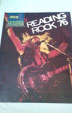 """REVISTA """"POPULAR 1 CONCIERTO READING ROCK ' 76 """" EN BUEN ESTADO"""