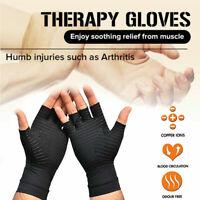 Compression Arthritis Gloves COPPER HEAL Rheumatoid Carpal Tunnel for Unisex