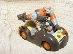 Figürchen + Auto Gormiti Nr ° D1031 - Car