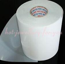 1 meter Iron on transfer paper hotfix mylar tape rhinestone diamante 24cm wide