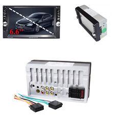 Bluetooth Auto Radio Stereo 2 DIN 6.6''HD Lettore MP5 Touch Screen USB AUX FM