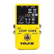 NUX Loop Core Looping Looper Guitar/Bass Effect Pedal with 4GB of Memory