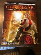 GOD OF WAR Chains Of Olympus Official Strategy Guide Kratos Hack & Slash PSP PS3
