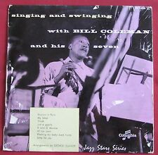 BILL COLEMAN AND HIS SEVEN 25 CM 10' SINGING AND SWINGING