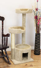"PREMIER 50"" TALL SOLID WOOD CAT TREE - FREE SHIPPING IN THE U.S."
