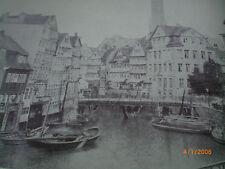 Hamburg - Fotografien von Charles Fuchs um 1860 - Klingbergfleet, Winserbrücke