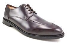 Rockport Men's Leather Split Toe Lace Up Shoes Burgundy Oxfords Size 10 US