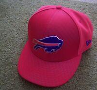 RARE STYLE Authentic NEW ERA 9Fifty BUFFALO BILLS Red SNAPBACK HAT/Cap jersey