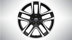Genuine Volvo Aluminum Rim - Tucan 18-Inch Black 31664048
