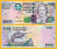 Bahamas100 Dollars p-76 2009 UNC Banknote