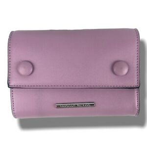 Morgan Taylor Designer Small Handbag Clutch Bag Lilac Shoulder Strap Luxury