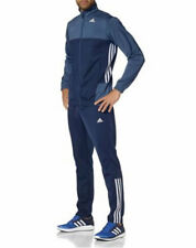 Adidas aktueller Herren Trainingsanzug Größe 5 Medium (46/48) blau grau-blau neu