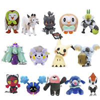 7''-12'' Pokemon Center Pokemon Sun And Moon Alolan Stuffed Plush Figure Toy