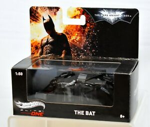 Hot Wheels Elite One The Dark Knight Trilogy The Bat Batwing 1:50 Scale NEW!