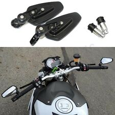 """LR Black Arrow 7/8"""" Bar End Rearview Side Mirrors For BMW S1000R S1000RR S1000XR"""