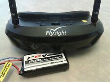Flysight Spexman FPV Goggles SPX02 5.8GHz Diversity RX / Drone Plane Fatshark