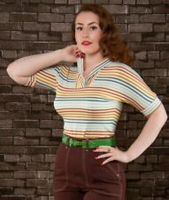 FREDDIES OF PINEWOOD, Ladies Drama Queen Top, 1950s, size XL