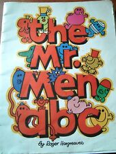 THE MR. MEN A B C by ROGER HARGREAVES  1978 FIRST EDITION ~SCARCE