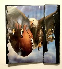Rare Vintage 90's Mead Trapper Keeper Binder - Eagle Clawing A Football! New!