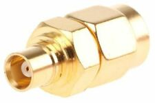 Straight 50Ω RF Adapter SMA Plug to MCX Socket 3GHz