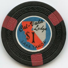 Cal-Veda Lodge Casino -Lake Tahoe -$1 Chip - 1948